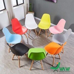 ghế ăn ghế cafe Eames nhựa giá rẻ
