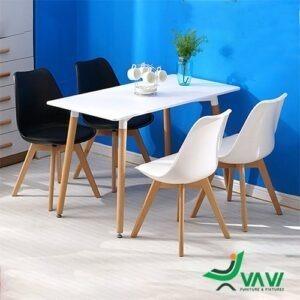 Bộ bàn ghế ăn chữ nhật hiện đại