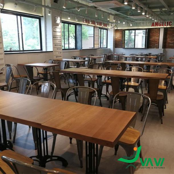 Ghế cafe ghế tolix có tựa nhập khẩu