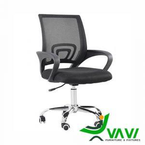 Ghế xoay văn phòng giá rẻ màu đen