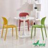 Bộ bàn ăn 3 ghế nhựa đúc hiện đại