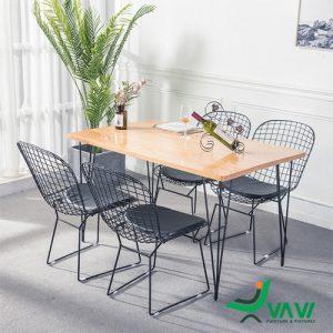 Bộ bàn ghế cafe sắt ngoài trời