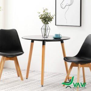 Bộ bàn tròn 2 ghế tiếp khách hiện đại