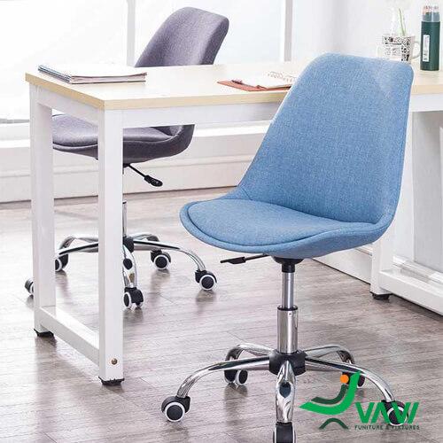 Ghế chân xoay bọc vải hiện đại trong văn phòng