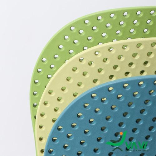 Ghế nhựa đúc xếp chồng nhập khẩu - mã TH410