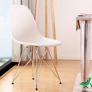 Ghế nhựa Eames chân sắt