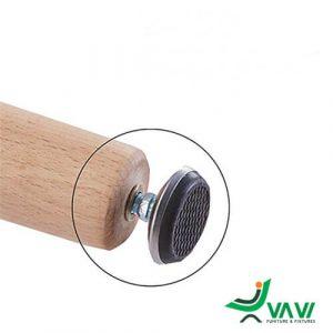 chân bàn ăn chữ nhật mặt gỗ MDF nhập khẩu