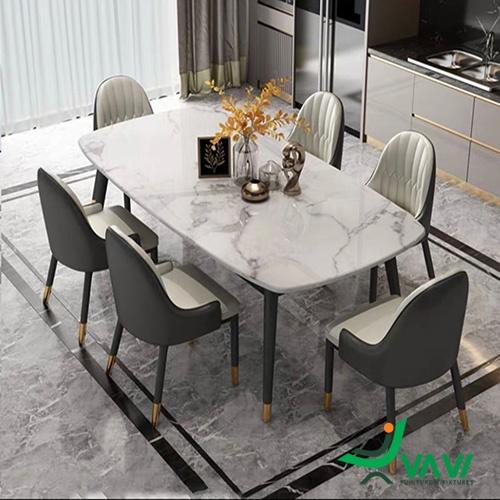 Bộ bàn ghế phòng ăn Monet