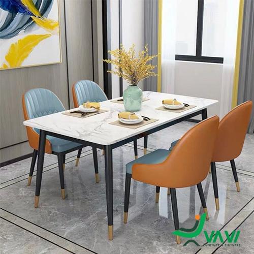 Bộ bàn ghế phòng ăn Monet nhập khẩu cao cấp