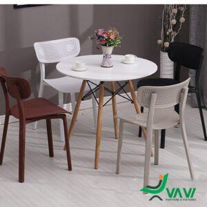 Ghế ăn ghế cafe nhựa PP cho nhà hàng