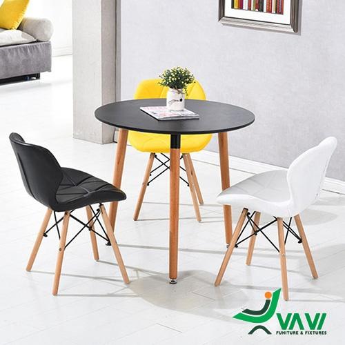 Bộ bàn tròn tiếp khách nhỏ gọn hiện đại