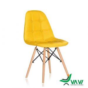 Ghế Eames bọc da giá rẻ màu vàng