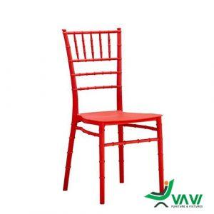 Ghế Tiffany màu đỏ