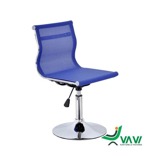 Ghế bar lưng lưới chân thấp nâng hạ