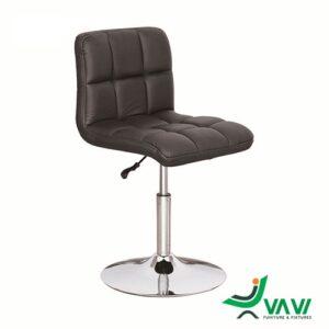 Ghế bar yên da dày chân trụ thấp