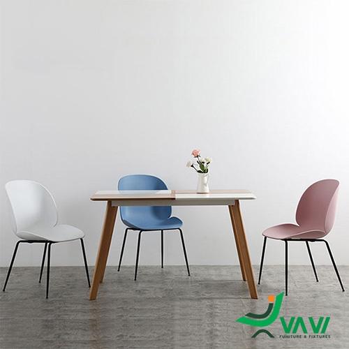 ghế cafe nhựa Beetle làm ghế ăn