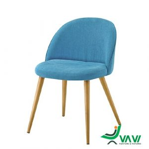 Ghế cafe phong cách Scandinavian màu xanh