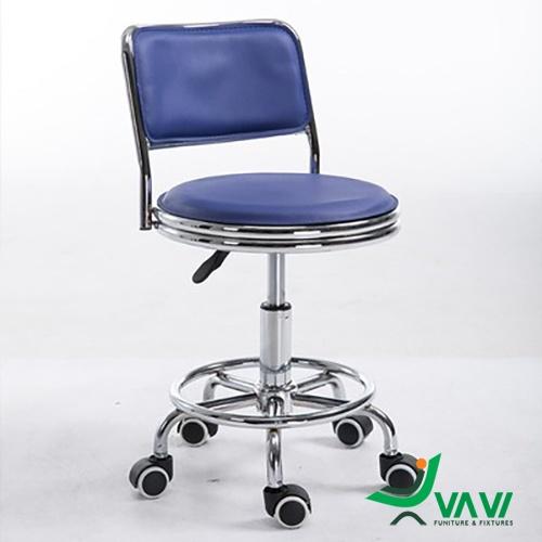 Ghế chân xoay có tựa lưng