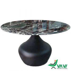 Bàn sofa mặt kính giả đá