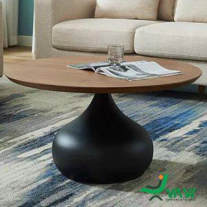 Bàn sofa phòng khách mặt gỗ