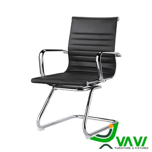 Ghế chân quỳ phòng họp màu đen