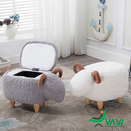 Ghế hình con cừu đáng yêu