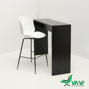 ghế bar chân sắt lưng nhựa Gubi