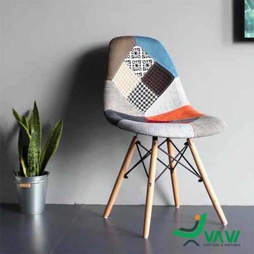 Ghế cafe bọc vải thổ cẩm