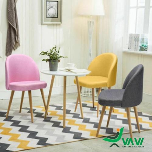 Ghế cafe bọc vải phong cách