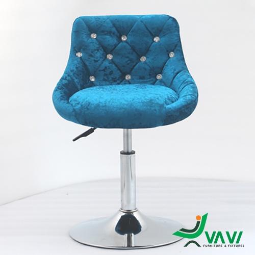 ghế bar chân thấp nệm nhung