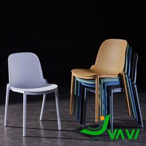 Ghế nhựa ngoài trời hiện đại