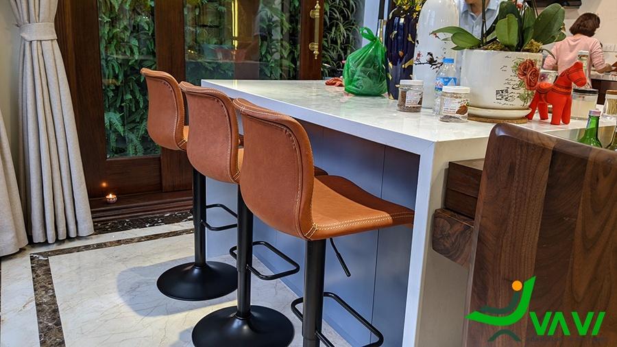 Ghế quầy bar tăng giảm đẹp tại hà nội