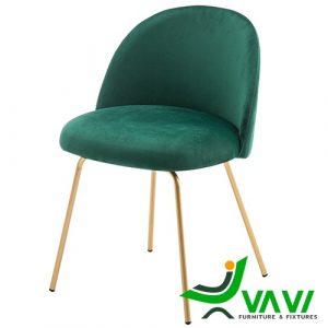 ghế ăn hiện đại chân mạ vàng