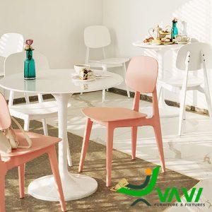 Ghế nhựa bàn ăn trẻ trung hiện đại