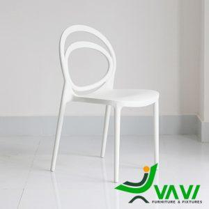 ghế nhựa đúc quán ăn