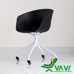 Ghế chân xoay nhôm cho văn phòng hiện đại nhập khẩu