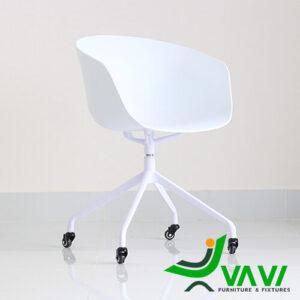 Ghế chân xoay nhôm cho văn phòng hiện đại