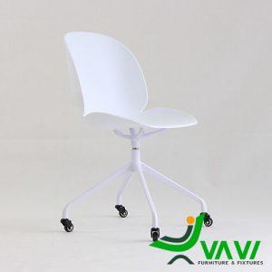 Ghế ngồi làm việc hiện đại màu trắng