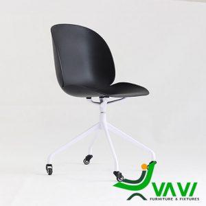 Ghế ngồi làm việc hiện đại màu đen