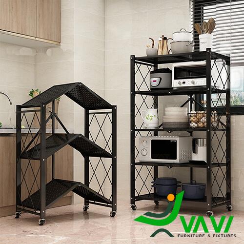 Kệ đa năng 3 tầng hiện đại trong phòng bếp