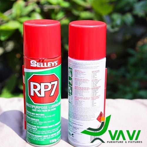 Xử lý han gỉ bằng hoá chất RP7