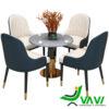 Bộ bàn 4 ghế sang trọng nhập khẩu