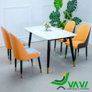 Bộ bàn ghế ăn đẹp sang trọng nhập khẩu