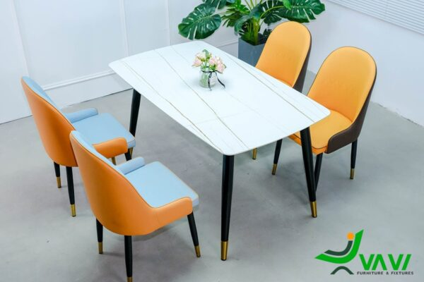 Bộ bàn ghế ăn đẹp sang trọng nhập khẩu cao cấp