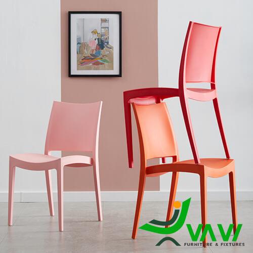 Ghế nhựa bàn ăn hiện đại