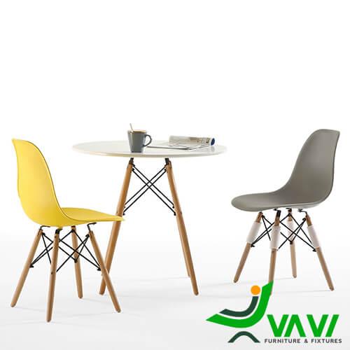 Bộ bàn ghế Eames hiện đại