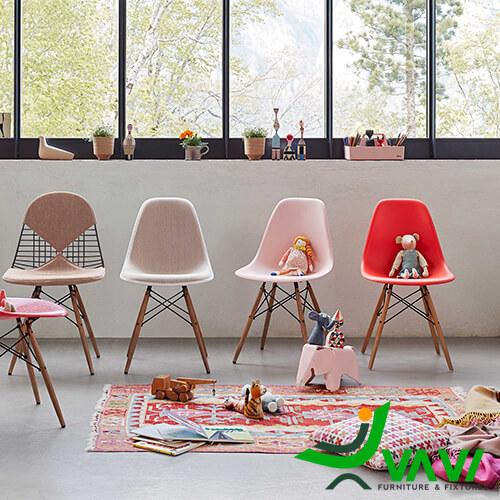 Ghế Eames nhựa đẹp hiện đại giá rẻ