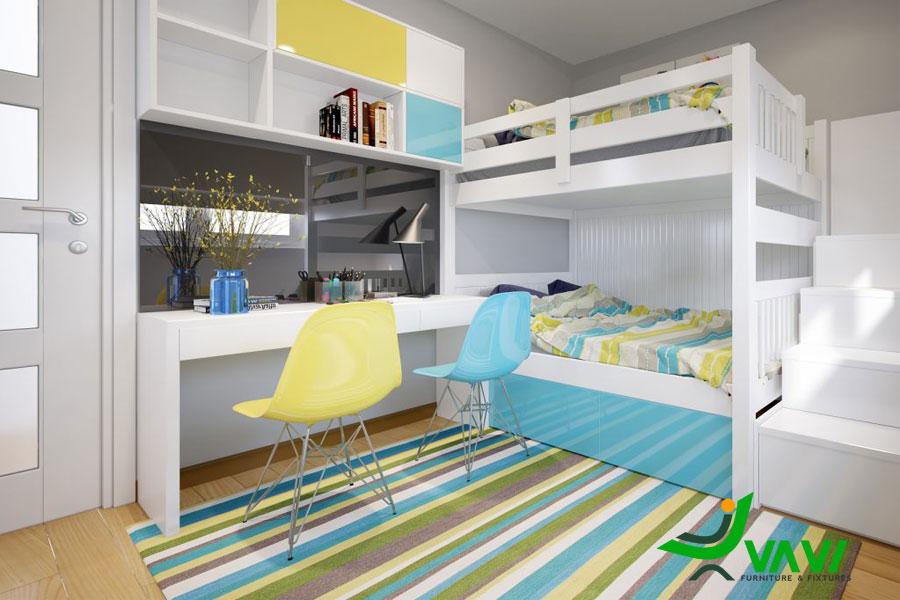 nội thất chung cư Phương Đông